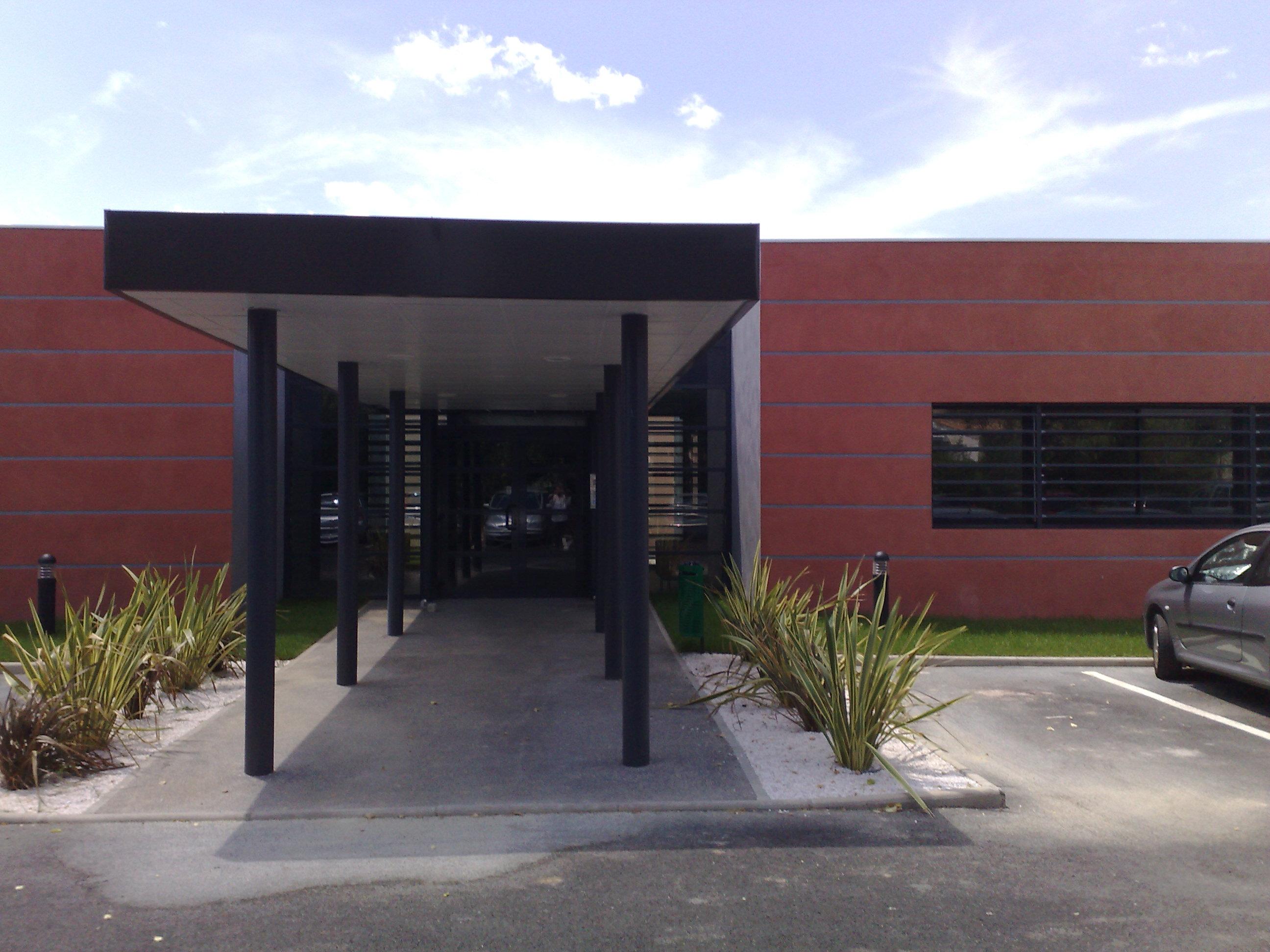 Extension du siège de l'Ametra