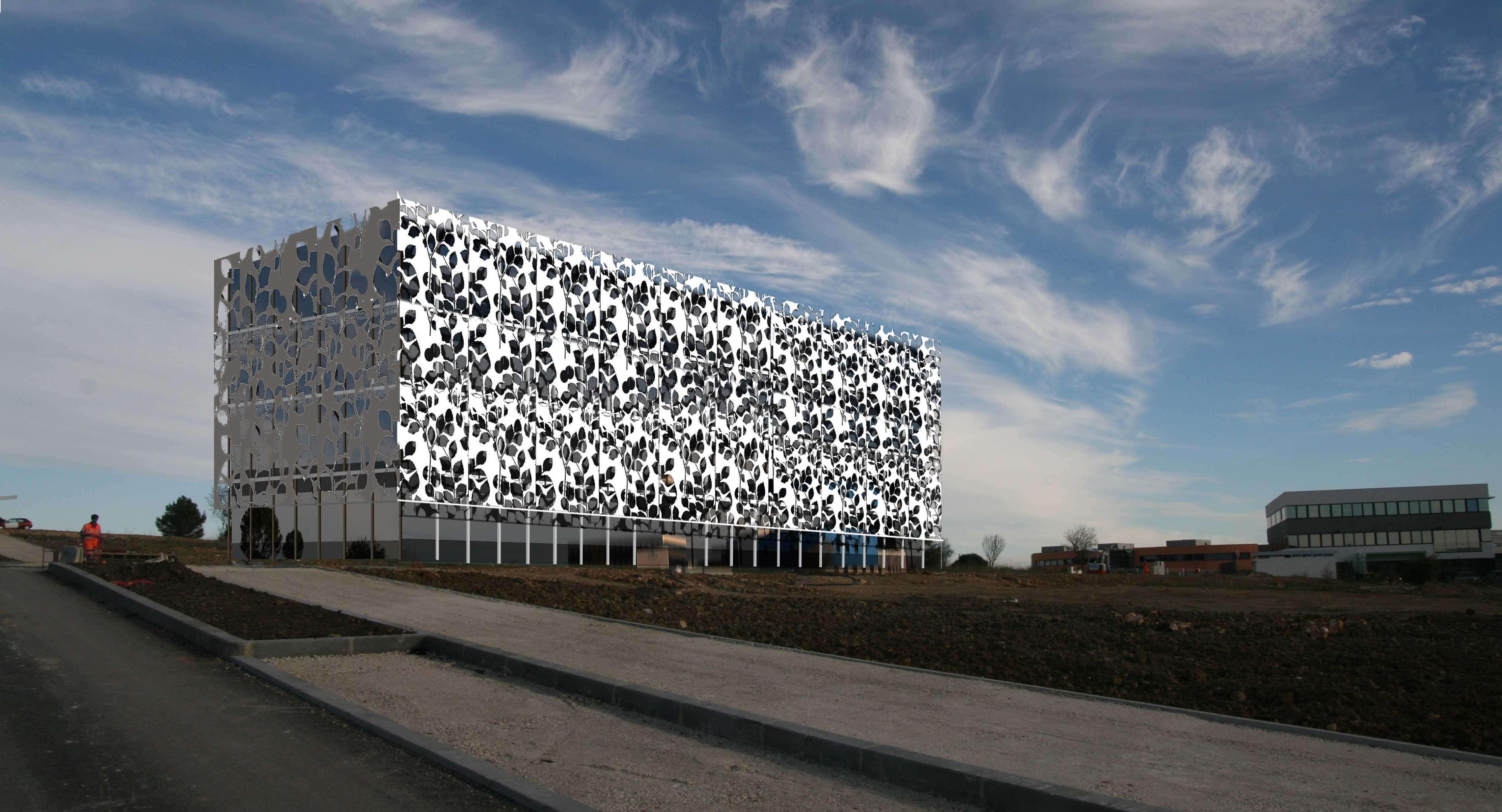 immeuble de bureaux grabels l 39 atelier d 39 architecture. Black Bedroom Furniture Sets. Home Design Ideas