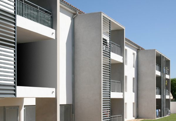 Logements sociaux Bouillargues - Façade